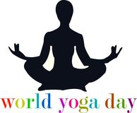 Logo di zen di yoga Fotografie Stock Libere da Diritti