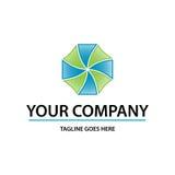 Logo dinamico Fotografia Stock Libera da Diritti