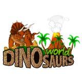 Logo Dinosaurs World Images stock