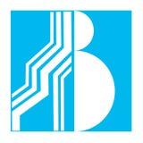 Logo dla listowego b Obraz Stock