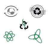 Logo dla przetwarzających produktów Fotografia Stock