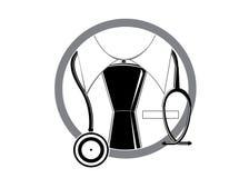 Logo doctor. Stock Photo
