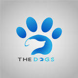 LOGO THE DOGS 2017 stock photos