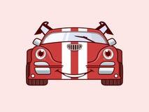 Logo drôle de voitures Image libre de droits