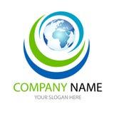 Logo du monde Image stock