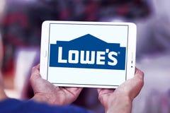 Logo du ` s de Lowe Image stock