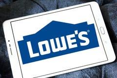 Logo du ` s de Lowe Photographie stock