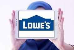 Logo du ` s de Lowe Images stock