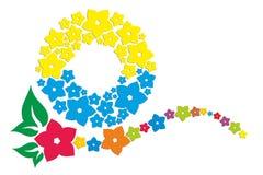 Logo du soleil et de la mer Photographie stock libre de droits