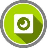 Logo e modello di immagine della macchina fotografica Fotografia Stock Libera da Diritti