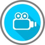 Logo e modello di immagine di Vidio Fotografia Stock Libera da Diritti