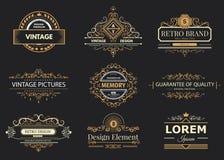 Logo e monogrammi di progettazione illustrazione vettoriale