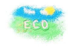 Logo eco Lizenzfreie Stockfotografie