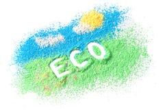Logo ECO stock image