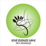Logo ed illustrazione moderni semplici ed alla moda, elemento disegnato a mano di vettore della casa illustrazione di stock