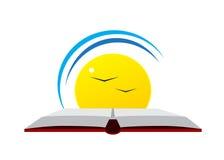 Logo education. Royalty Free Stock Image