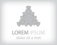 Logo element Stock Image