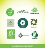 Logo element design company set Stock Images