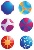 Logo element sphere Royalty Free Stock Photo
