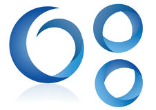 Logo elements - vector illustration