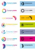 Logo elements Royalty Free Stock Images