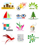 Logo elements Royalty Free Stock Photography