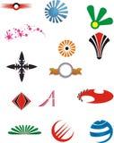 Logo elements Royalty Free Stock Images