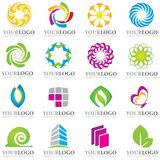 Logo elements stock photo