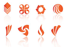 Logo elements - vector Stock Photo