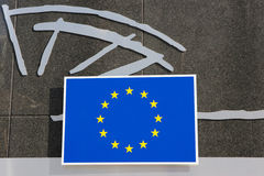Logo eller märke för europeisk union Royaltyfri Foto