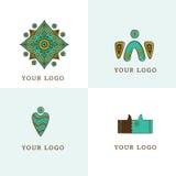 Logo ethno Stock Images