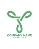 Logo etikettierend, entwerfen Sie 2 Betriebsversicherungszusammenfassung stock abbildung