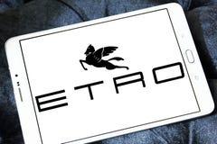 Etro fashion brand logo royalty free stock photo