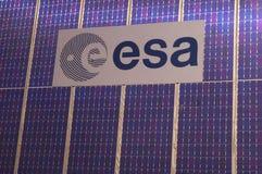 Logo europejska agencja kosmiczna (ESA) Zdjęcia Royalty Free
