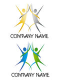 Logo for event company Stock Photography