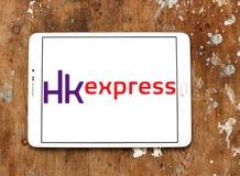 Logo exprès de voies aériennes du HK Images stock