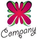 logo för 01 blomma Royaltyfria Bilder
