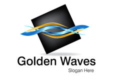 logo för affärsdesign Fotografering för Bildbyråer