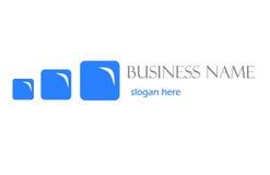 logo för affärsdesign Arkivfoton