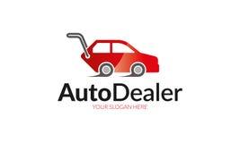 Logo för auto återförsäljare Arkivbilder