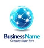 logo för design för affär 3d Arkivfoto