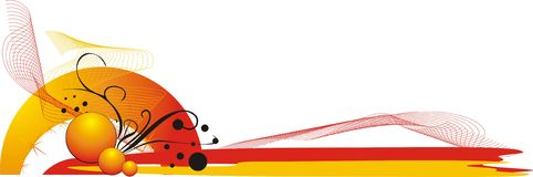 logo för element för affärskort dekorativ Royaltyfria Foton