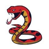 Logo för emblem för ångalokomotiv Royaltyfri Bild