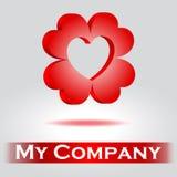Logo för företag Royaltyfri Foto