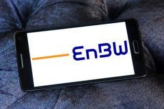Logo för företag EnBW för elektriska hjälpmedel royaltyfri bild