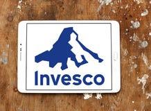Logo för företag för Invesco investeringledning Royaltyfri Fotografi