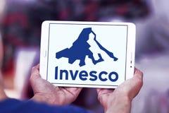 Logo för företag för Invesco investeringledning Royaltyfri Bild
