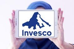 Logo för företag för Invesco investeringledning Arkivfoto