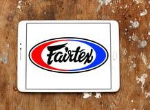 Logo för Fairtex klädmärke Arkivbild