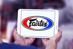 Logo för Fairtex klädmärke Arkivbilder